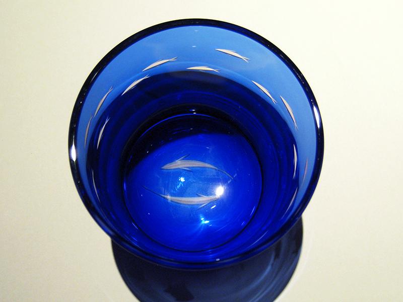 オリジナルFISH回遊瑠璃青